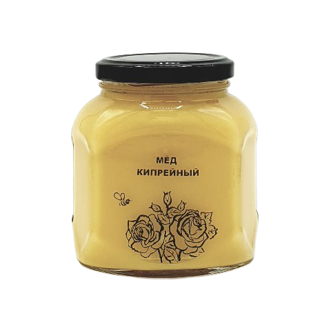 Мёд натуральный КИПРЕЙНЫЙ, 500 гр