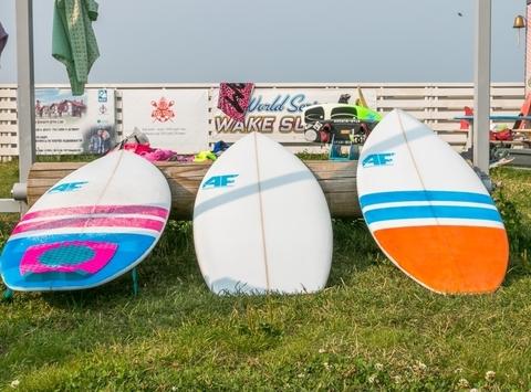 Вейксерф A-Frame Surf Shark 4'8