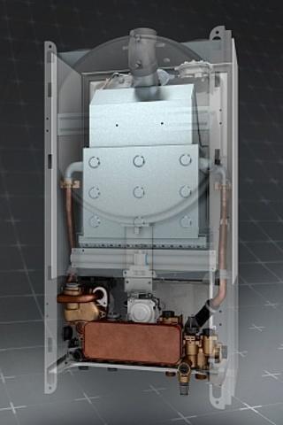 Газовый котел BAXI ECO-4s 24