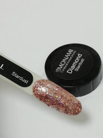 MONAMI Гель-лак Diamond Stardust, 5 гр (платиновый)