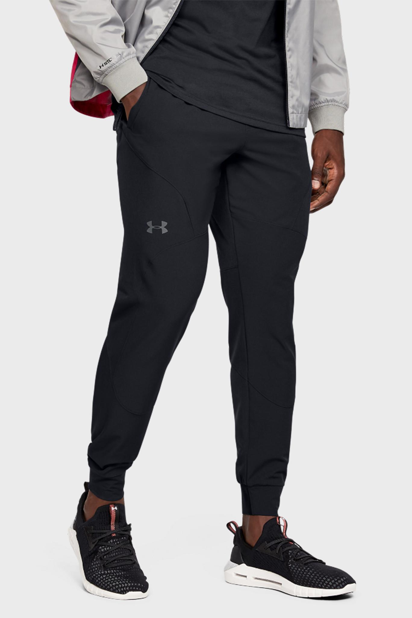 Мужские черные спортивные брюки STRETCH WOVEN UTILITY JOGGER Under Armour