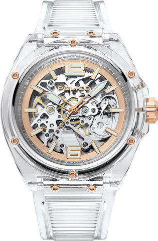 Часы мужские Police PL.15924JPCL/48AP Translucent
