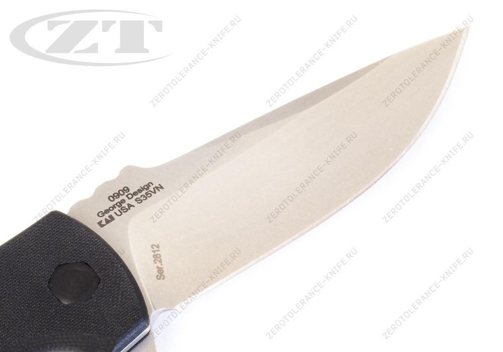 Нож Zero Tolerance 0909 Les George - фотография