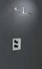 Встраиваемый термостатический смеситель для душа ALEXIA 368712S на 2 выхода - фото №2