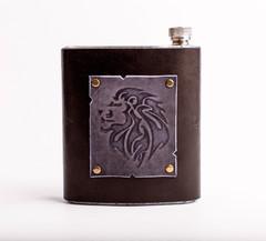Фляга «Лев», 500 мл, фото 1