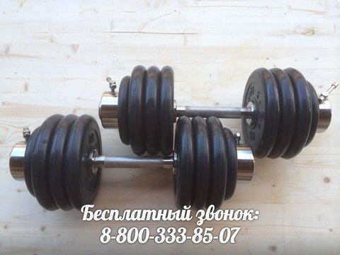 Гантели разборные 2 по 41,5 кг