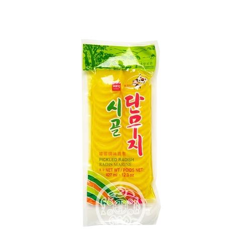 Редька маринованная Wang Pickled radish 350г пак Samjin Корея