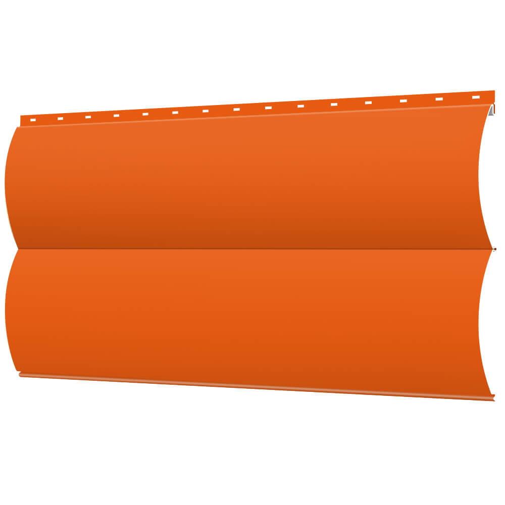 Металлический сайдинг «БлокХаус», полиэстер глянцевый