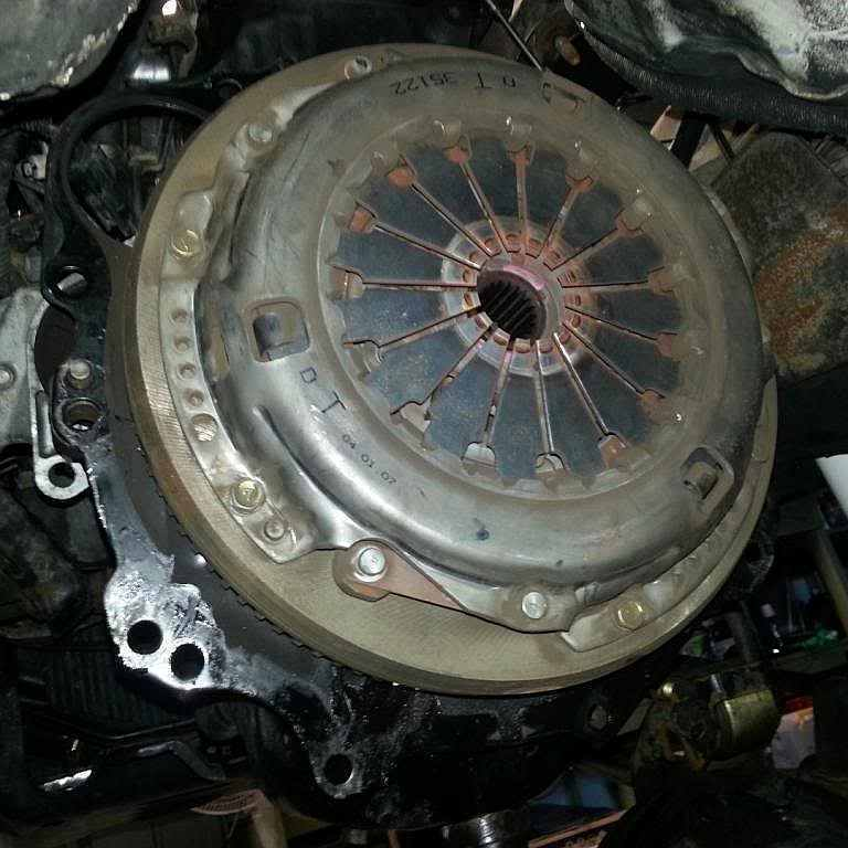 Замена сцепления Mitsubishi Pajero 3