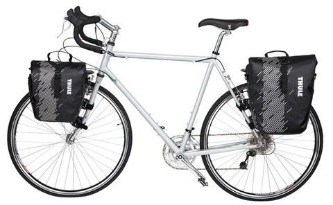Картинка велосумка Thule Shield Small синие - 4