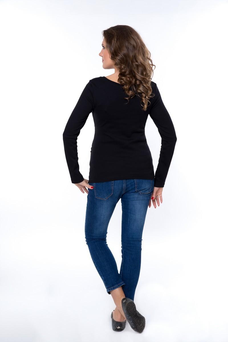 Блузка для беременных 09011 черный