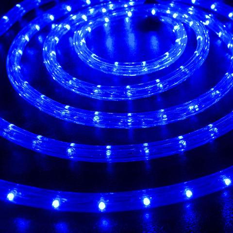шланг синий 10 метров готовый отрезок с контроллером led