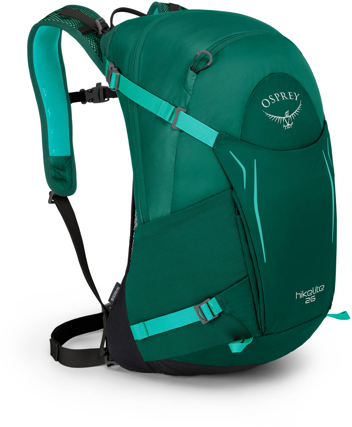Туристические рюкзаки Рюкзак Osprey HIkelite 26 Aloe Green HIkelite26_S18_Side_AloeGreen_web.jpg