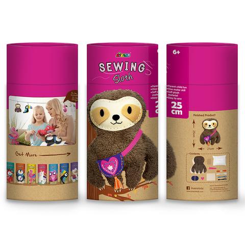 Набор для шитья. Мягкая игрушка: ленивец. Avenir