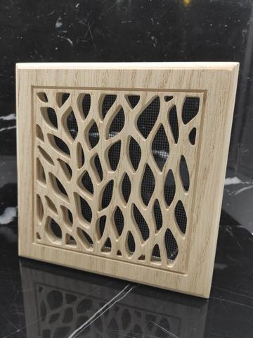 Решетка декоративная деревянная на магнитах Пересвет К-24 150х150мм