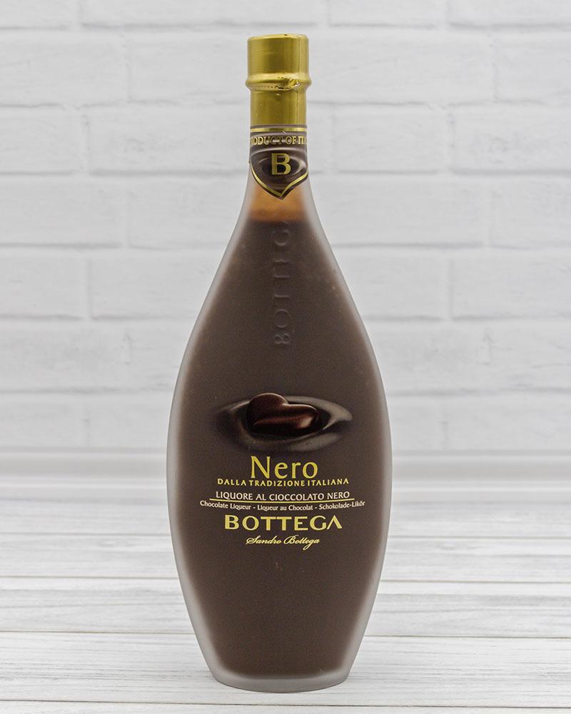Крем Ликер Bottega Неро 15%, 0,5 л.