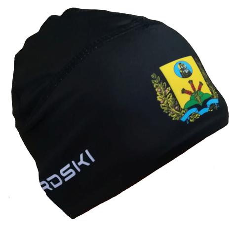 Шапочка для снежного снайпера черная с логотипом МОГИЛЕВСКАЯ ОБЛАСТЬ Nordski Warm black