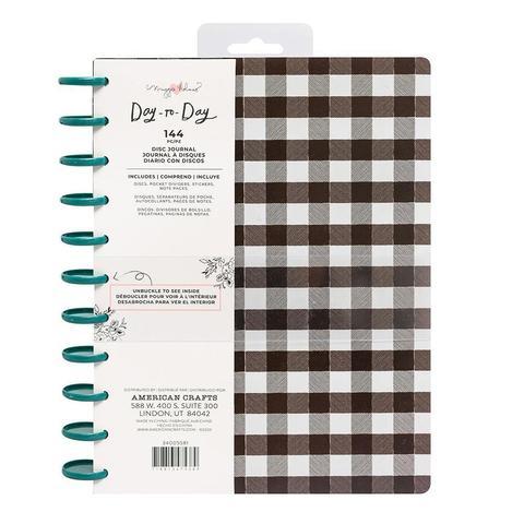 Планер Maggie Holmes Day-To-Day Journal 21х27,5 см- Black & White Checkerboard