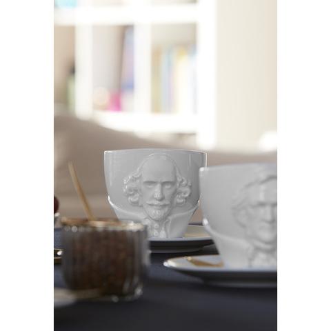 Чайная пара Talent William Shakespeare, 260 мл, белая