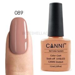 Canni, Гель-лак № 089, 7,3 мл