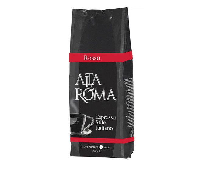 Кофе в зернах Alta Roma Rosso, 1 кг (Альта Рома)
