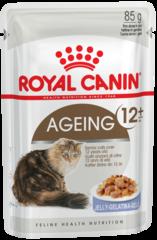 Пауч для взрослых кошек старше 12 лет, Royal Canin Ageing +12 (в желе)