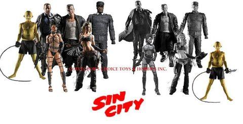 SIN CITY - FIGURES SERIES 1
