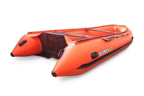 Надувная ПВХ-лодка Солар - 470 Super Jet Tunnel (оранжевый)
