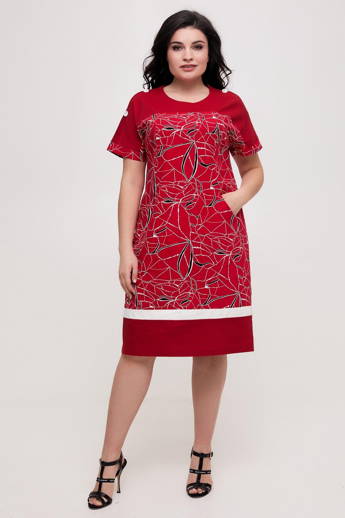 Сукня Анюта (червоний)