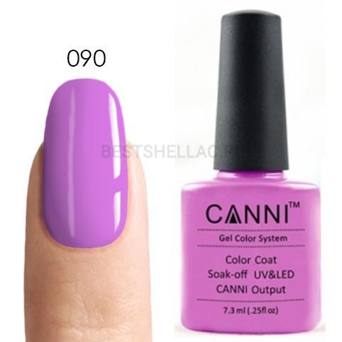 Canni Canni, Гель-лак № 090, 7,3 мл 090.jpg