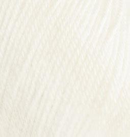 Пряжа Alize Baby Wool молочный 62