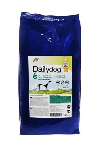 Сухой корм DailyDog Adult Large Breed Chicken and Rice для взрослых собак крупных пород с курицей и рисом 20 кг