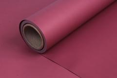 Матовая бумага Бордо / рулон 0,5*10м, 50мкр