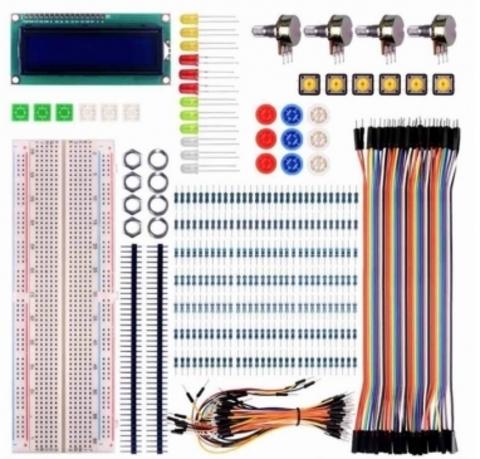 Стартовый набор для Arduino (22 предмета)