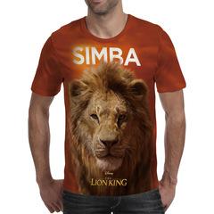 Футболка 3D принт, Король Лев (3Д The Lion King) Симба / Simba 01