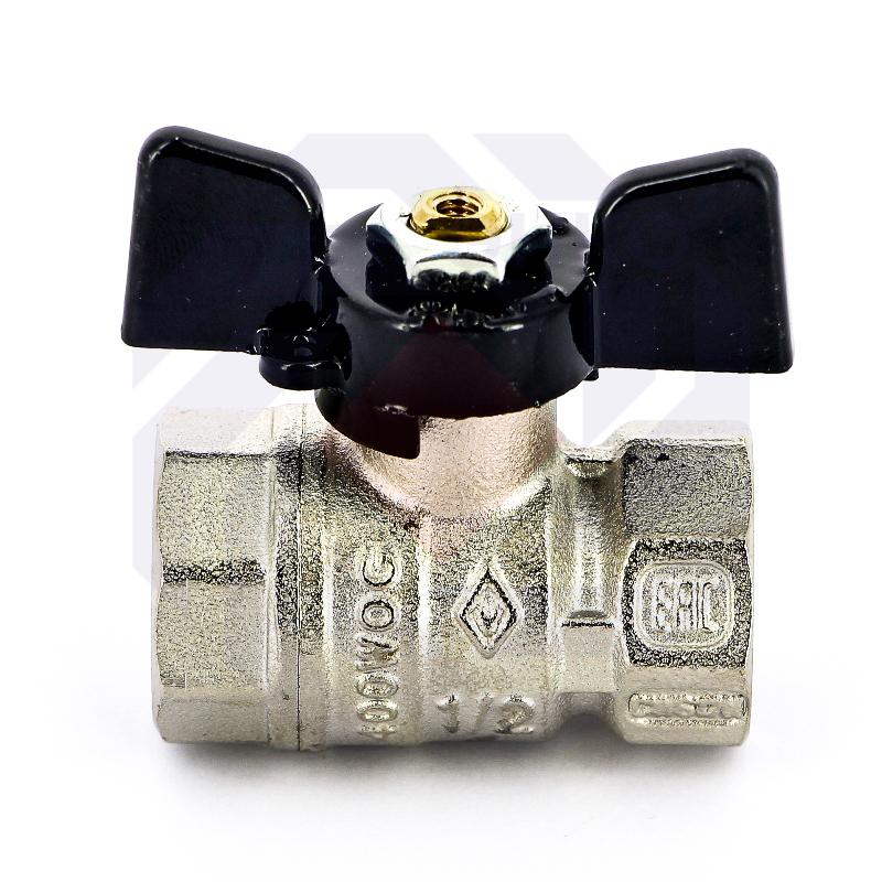 Кран шаровой ВР/ВР BUGATTI 602 ½