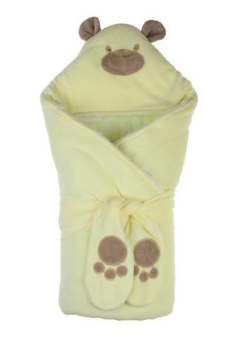 Зимний конверт-одеяло Little Bear лимонный