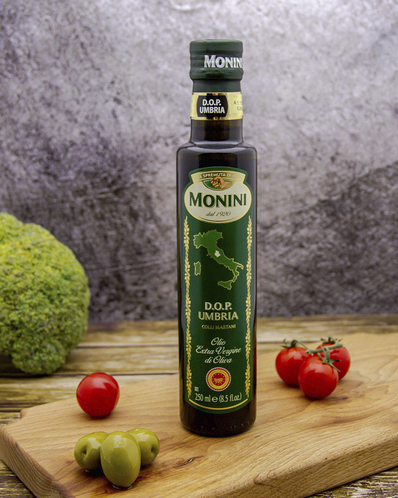 Масло оливковое Monini Экстра Вирджин ДОП Умбрия 0,25 л.