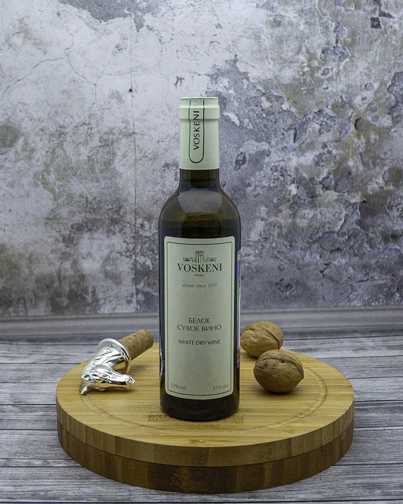 Вино Voskeni Белое сухое 13% 0,375 л.