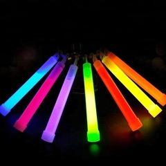 Сигнальная палочка Track светящаяся ХИС 150мм голубая - 2