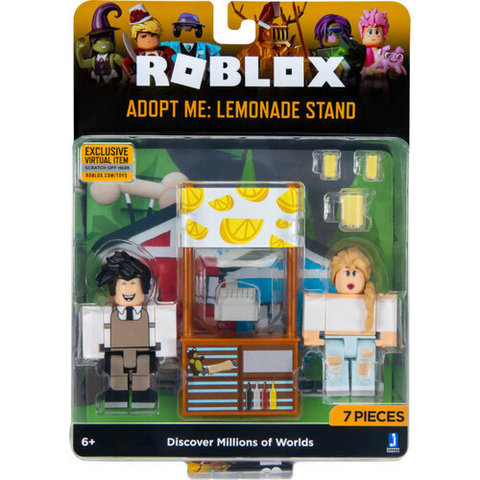 Игровая коллекционная фигурка Jazwares Roblox Game Packs Adopt Me: Lemonade Stand W6