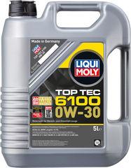 НС-синтетическое моторное масло Top Tec 6100 0W-30 Артикул: 20779      объем: 5 л