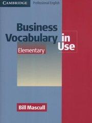 Business Voc in Use Elem Bk +ans