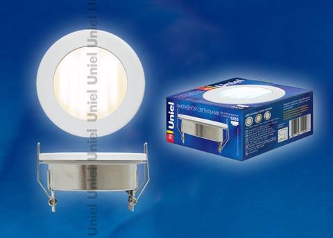 Встраиваемый Точечный Светильник Uniel ESL-GX53-H5 белый IP54
