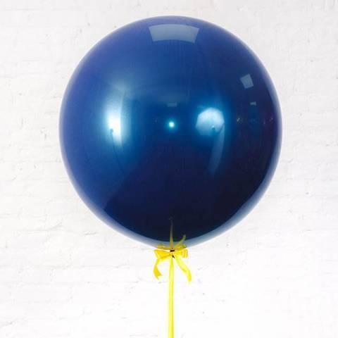 Набор №1 Зеркальный шар синий 60см