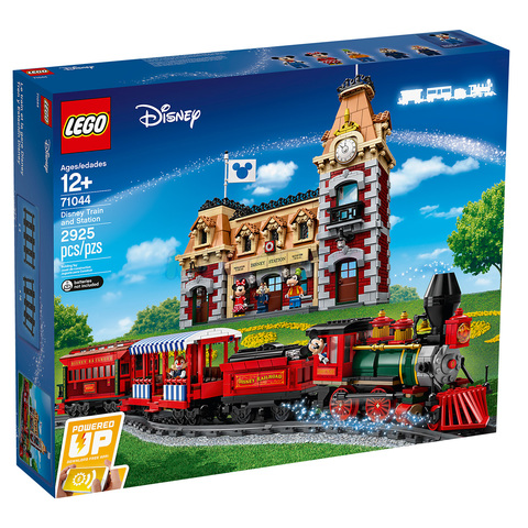LEGO Disney: Поезд и станция Disney 71044 — Disney Train and Station — Лего Дисней