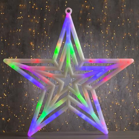 Светодиодная подвесная фигура Звезда