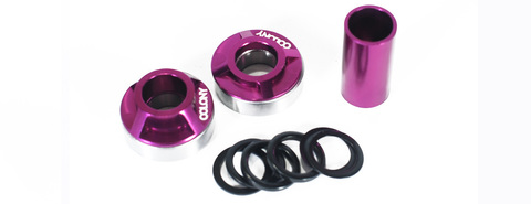 BMX Каретка Colony MID BB Kit 22mm Purple