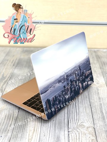 Накладка пластик MacBook Air 13.3 /picture city/ DDC
