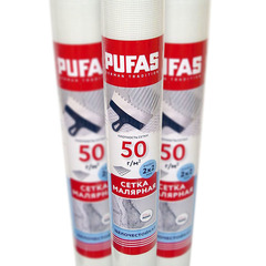 Сетка стеклотканевая малярная Pufas (2х2 мм) 30м